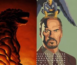 Foto: Los 20 mejores posters de cine en 2014: Godzilla, Birdman, Interstellar... (WARNER/NEW REGENCY/AUTOMATIK)