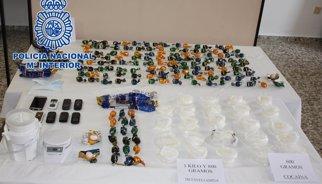 Desarticulada una xarxa dedicada a portar des d'Espanya al Japó metamfetamina en forma de bombons