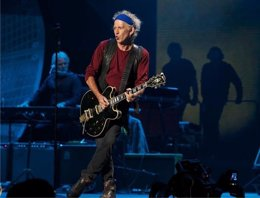 Foto: Keith Richards en 5 canciones (FACEBOOK)