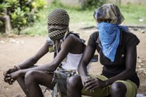 Dos niños, de 14 y 17 años, miembros de un grupo armado contra balaka