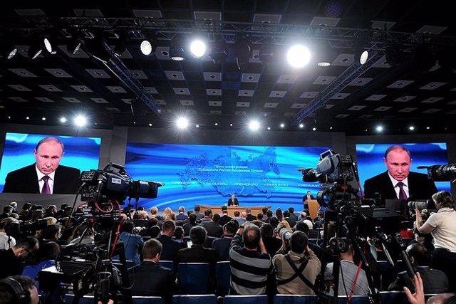 """Foto: Putin asegura que Poroshenko tiene un """"interés real"""" en lograr una solución a la crisis en Ucrania"""
