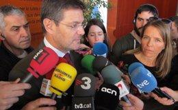 """Foto: Catalá afirma que Torres-Dulce """"es el primero que ha reiterado la ausencia de injerencias"""" (EUROPA PRESS)"""