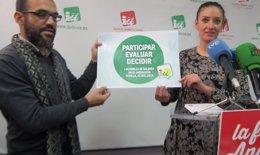 Foto: IULV-CA debatirá en su Asamblea una posible ruptura del pacto con el PSOE en el gobierno andaluz (EUROPA PRESS)