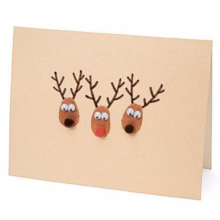 15 ideas para hacer postales de navidad originales a mano - Ideas postales navidad ...