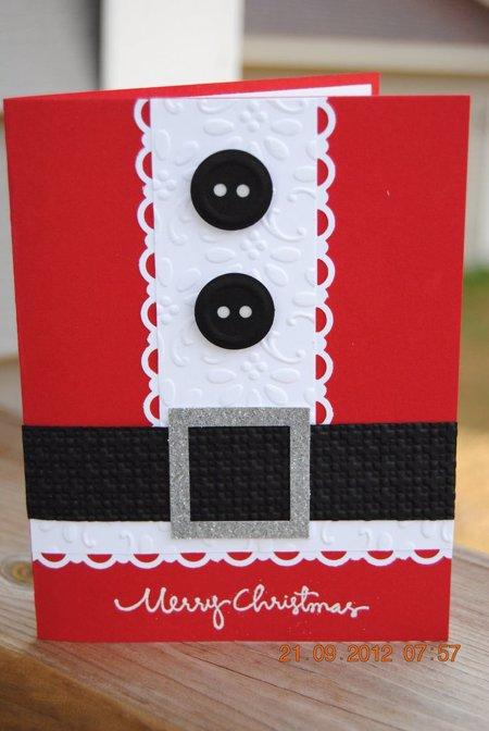 15 ideas para hacer postales de navidad originales a mano - Hacer una postal de navidad ...