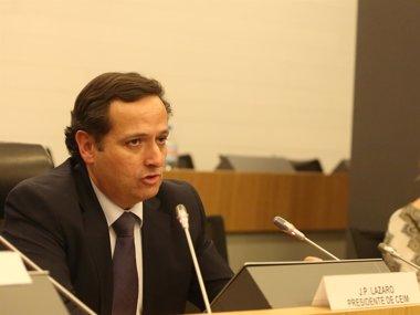 Foto: Juan Pablo Lázaro se convierte en nuevo presidente de CEIM (EUROPA PRESS/CEIM)