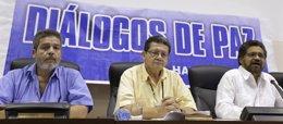 Foto: Las FARC piden perdón a las víctimas de la masacre de Bojayá, en la que murieron 117 personas (REUTERS/ENRIQUE DE LA OSA)
