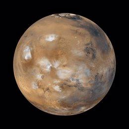 Foto: Evidencias en meteoritos indican un reservorio de agua en Marte (NASA/JPL)
