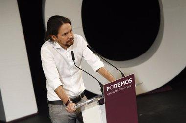 Foto: Pablo Iglesias, el único político aprobado por los vascos (EUROPA PRESS)