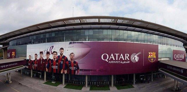 Fachada del Camp Nou