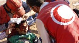 Foto: La OMS asegura que la guerra de Siria ha dejado un millón de heridos en todo el país (MURAD SEZER / REUTERS)