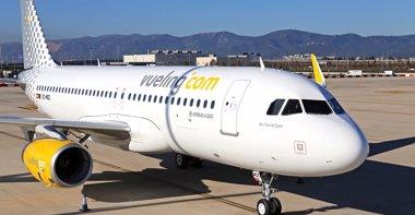 Foto: Vueling recibe el primer avión de compra, el 'Air Force Juan' (VUELING)