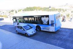 Transporte público, autobuses y taxis, contaminación autobuses y taxis