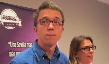 """Foto: Errejón se ve víctima de una """"cacería"""" por ser de Podemos (EUROPA PRESS)"""