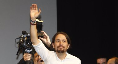 Foto: Podemos arranca la precampaña este domingo con un mitin de Iglesias en Barcelona bajo el lema '2015 Empieza el cambio' (EUROPA PRESS)