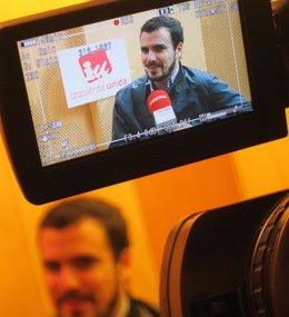 """Foto: Garzón (IU) destaca los avances conseguidos en Andalucía pese a la """"incomodidad"""" del PSOE y Susana Díaz (EUROPA PRESS)"""