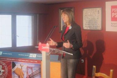 """Foto: Mendia:  """"El PSE no renunciará a recordar tragedias del pasado"""" (EUROPA PRESS)"""