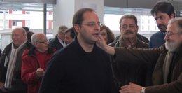 """Foto: Luena defiende que el PSOE está """"unido y fuerte"""" y dice que sus candidaturas """"son las del cambio"""" (EUROPA PRESS)"""