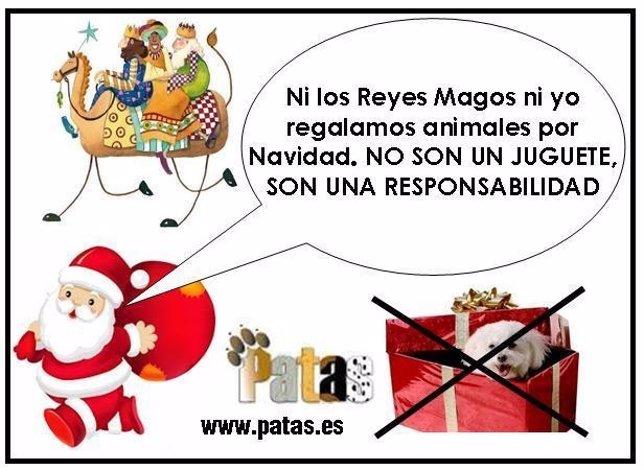 Cartel de la campaña de PATAS