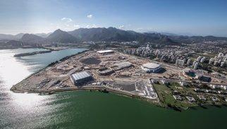 Les obres de Rio 2016 avancen a bon ritme i només el velòdrom té retards importants
