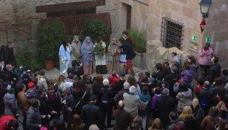 Arrenca la segona edició de la mostra de pessebres vivents al Poble Espanyol