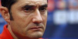 """Foto: Valverde: """"Los partidos ante el Atlético son intensos y apasionantes"""" (JEAN-PAUL PELISSIER / REUTERS)"""