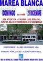La Marea Blanca pedirá en Madrid la derogación de la ley que
