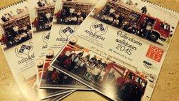Foto: Bomberos del 112 colaboran con ASDASÓN en un calendario solidario (ASDASON)