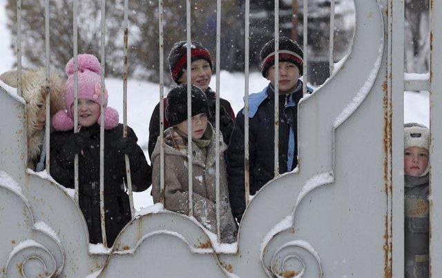 Foto: UNICEF denuncia que han muerto 44 niños en el conflicto de Ucrania y que hay 1,7 millones de menores afectados