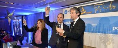 """Foto: Diego dice que el PP ganará las elecciones porque ofrece """"ilusión y esperanza"""" (PP)"""