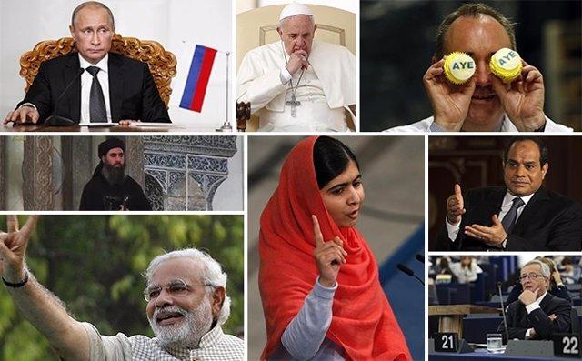 Foto: Los personajes que dieron la vuelta al mundo en 2014