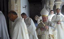 Foto: Vicente Jiménez toma posesión este domingo como arzobispo de Zaragoza (OBISPADO)
