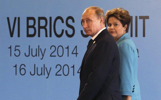 Foto: Rousseff y Putin, los personajes del año para la prensa latinoamericana