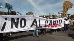Foto: Crecen las protestas campesinas ante el inminente inicio de las obras del canal interoceánico de Nicaragua (OSWALDO RIVAS / REUTERS)