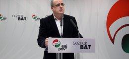 """Foto: Egibar advierte a ETA de que el Gobierno central no va a estar """"al otro lado de la mesa"""" para verificar su desarme (EUROPA PRESS)"""