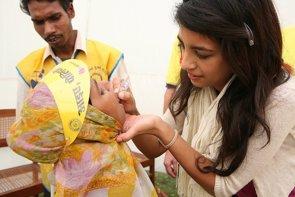 Foto: Más del 80% de la población mundial vive en regiones libres de polio (RIBI IMAGE LIBRARY)