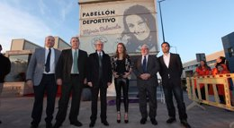Foto: Mireia Belmonte pone nombre a un pabellón deportivo en Las Torres de Cotillas (Murcia) (UCAM)