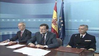 """Rajoy agraeix a les tropes a l'exterior el seu compromís i contribució que Espanya sigui un soci """"fiable"""""""