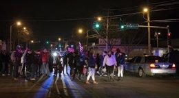 "Foto: El alcalde de Berkeley llama a la calma: ""No es lo mismo que en Ferguson"" (KATE MUNSCH / REUTERS)"