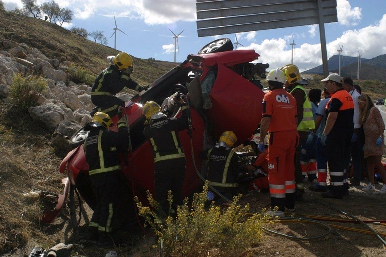 El consorcio provincial de bomberos supera las - Jefatura provincial trafico malaga ...