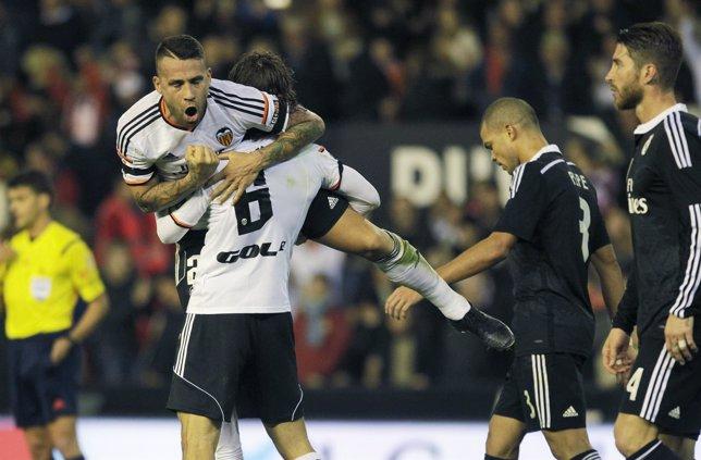 El Real Madrid sucumbe en Mestalla