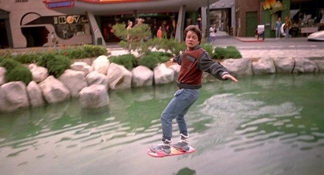 Marty McFly Regreso al futuro2