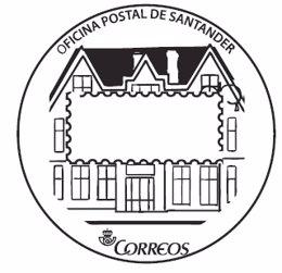 la oficina de correos de santander estrena un matasellos