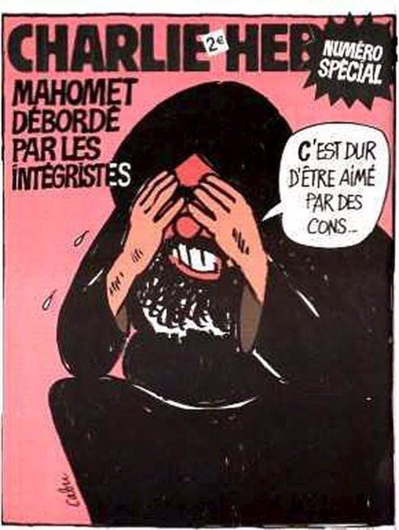caricatura de Mahoma