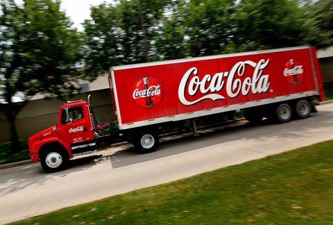 Camión de Coca-Cola