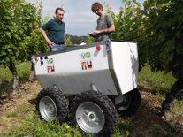 Robot para mejorar la producción vitivinícola