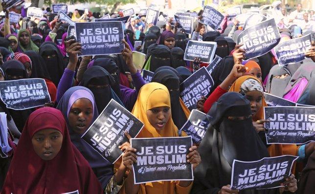 Protestas contra Charlie Hebdo
