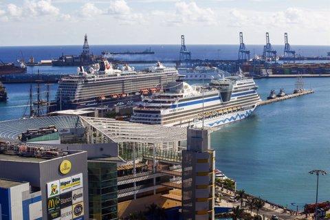 Cruceros en el Puerto de La Luz y de Las Palmas
