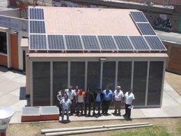 Foto: UJA instala sistemas fotovoltaicos en Perú (EUROPA PRESS/UJA)