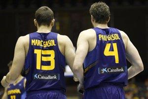 Foto: Els germans Gasol, titulars a l''All Star' (ALBERTO NEVADO/FEB)